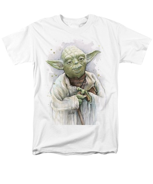 Yoda Men's T-Shirt  (Regular Fit) by Olga Shvartsur