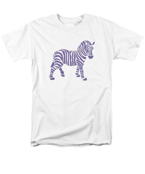 Zebra Stripes Pattern Men's T-Shirt  (Regular Fit) by Christina Rollo