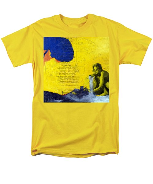 Aquarius Abstract T-Shirt by Corporate Art Task Force