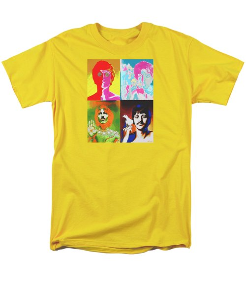 Fab Four T-Shirt by Dan Haraga