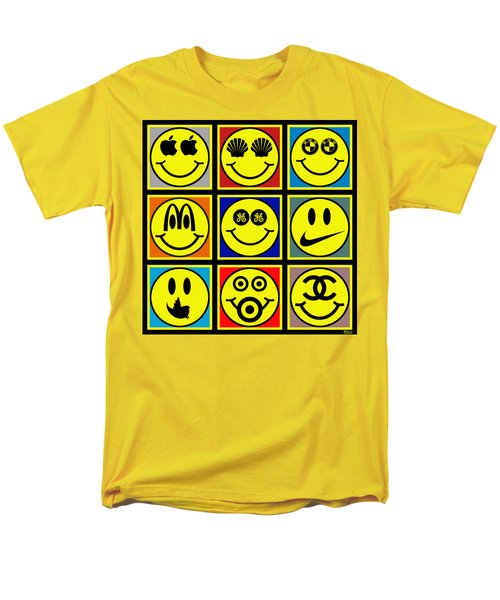 Happy Logos T-Shirt by Tony Rubino