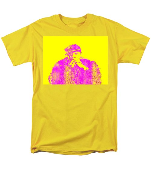 Jay Z  Rock Men's T-Shirt  (Regular Fit) by Brian Reaves