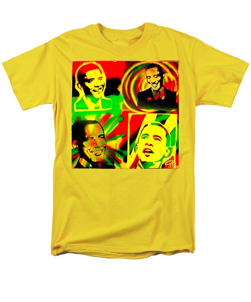 4 Rasta Obama T-Shirt by TONY B CONSCIOUS