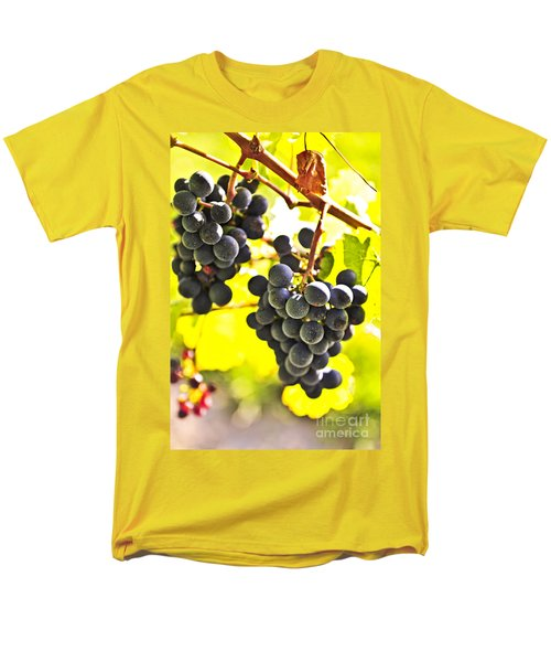 Red grapes T-Shirt by Elena Elisseeva