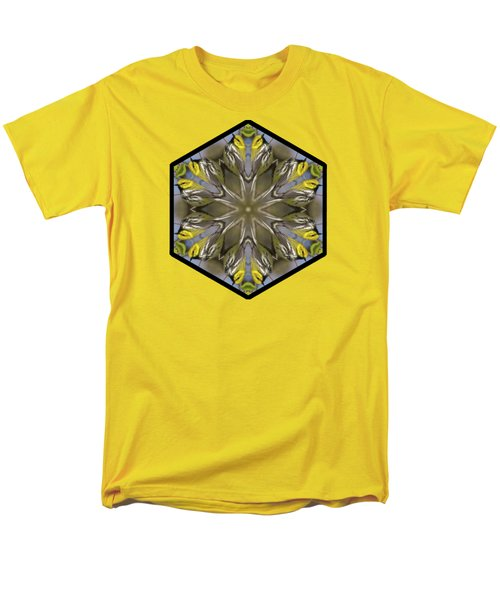 Black-throated Green Warbler Men's T-Shirt  (Regular Fit) by Rhoda Gerig
