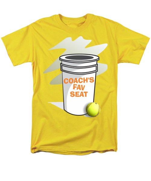 Coach's Favorite Seat Men's T-Shirt  (Regular Fit) by Jerry Watkins