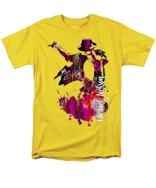 Michael Jackson Collection Men's T-Shirt  (Regular Fit) by Marvin Blaine