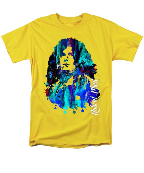 Robert Plant Collection Men's T-Shirt  (Regular Fit) by Marvin Blaine