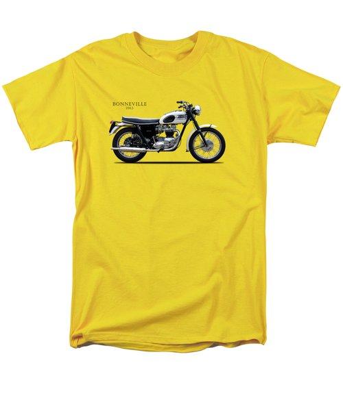 Triumph Bonneville 1963 Men's T-Shirt  (Regular Fit) by Mark Rogan