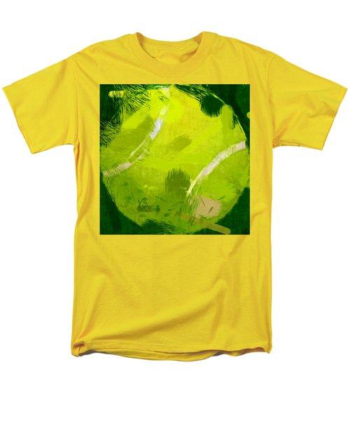Abstract Tennis Ball T-Shirt by David G Paul