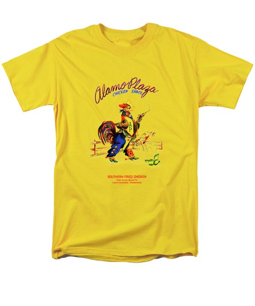 Alamo Plaza Tennessee 1950s Men's T-Shirt  (Regular Fit) by Mark Rogan