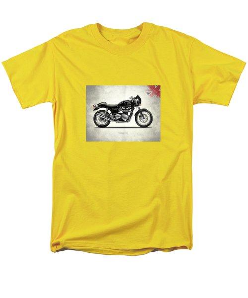 Triumph Thruxton Men's T-Shirt  (Regular Fit) by Mark Rogan