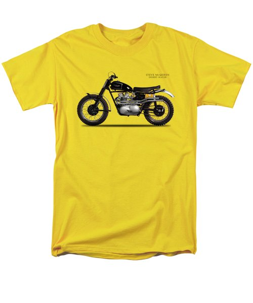 The Steve Mcqueen Desert Racer Men's T-Shirt  (Regular Fit) by Mark Rogan