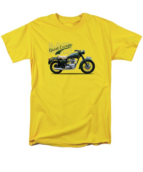 The Great Escape Motorcycle Men's T-Shirt  (Regular Fit) by Mark Rogan