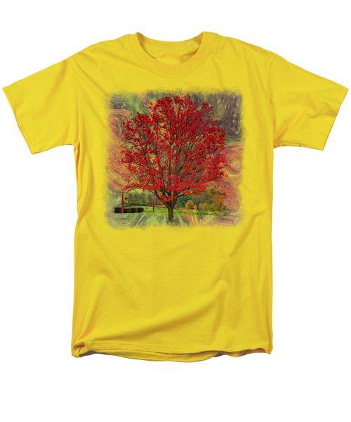 Autumn Scenic 2 Men's T-Shirt  (Regular Fit) by John M Bailey