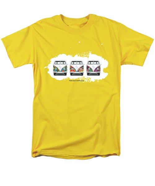 Flower Power Vw Men's T-Shirt  (Regular Fit) by Mark Rogan