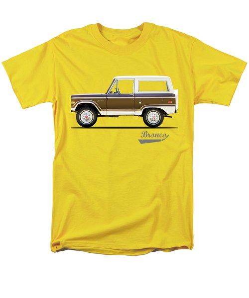 Ford Bronco Ranger 1976 Men's T-Shirt  (Regular Fit) by Mark Rogan