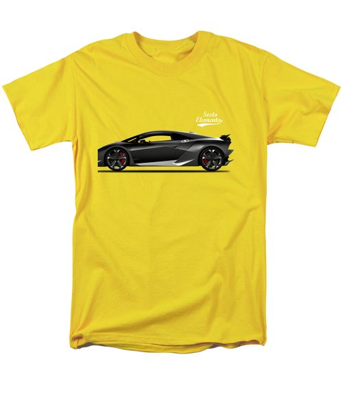 Lamborghini Sesto Elemento Men's T-Shirt  (Regular Fit) by Mark Rogan
