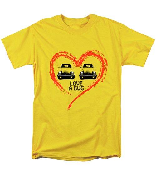 Love A Bug Men's T-Shirt  (Regular Fit) by Mark Rogan