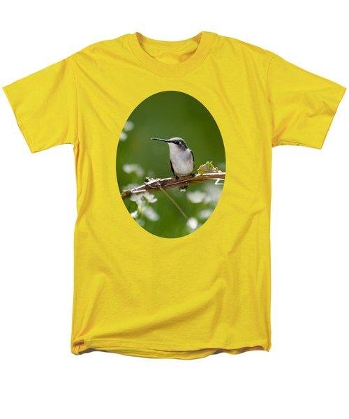 Meadow Hummingbird Men's T-Shirt  (Regular Fit) by Christina Rollo