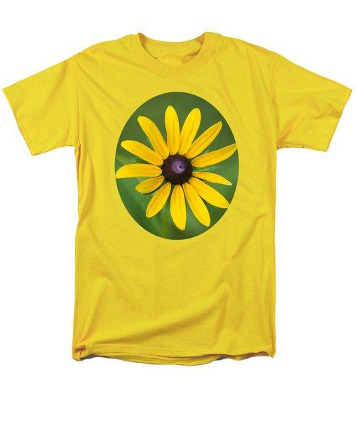 Rudbeckia Flower Men's T-Shirt  (Regular Fit) by Christina Rollo
