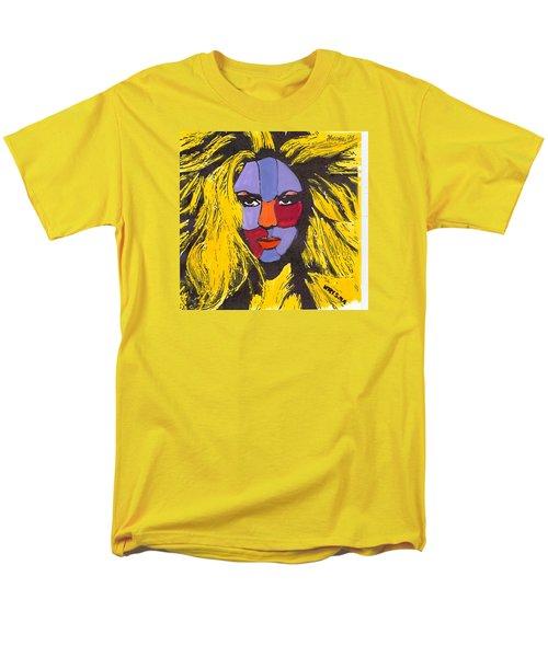 Shakira Men's T-Shirt  (Regular Fit) by Zheni Mavromati