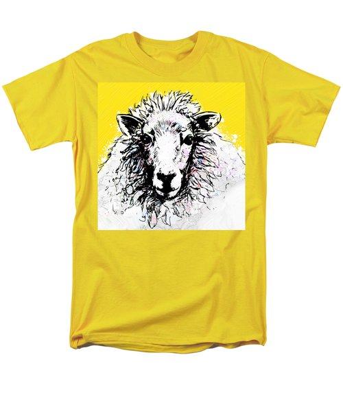 Sheep Men's T-Shirt  (Regular Fit) by Tiffany Hunter