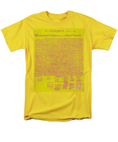 The United States Declaration of Independence 20130215m68 T-Shirt by Wingsdomain Art and Photography