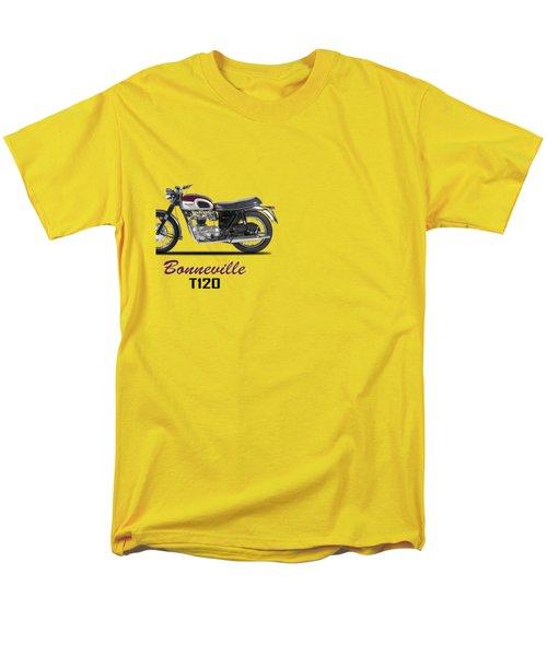 Triumph Bonneville T120 1968 Men's T-Shirt  (Regular Fit) by Mark Rogan