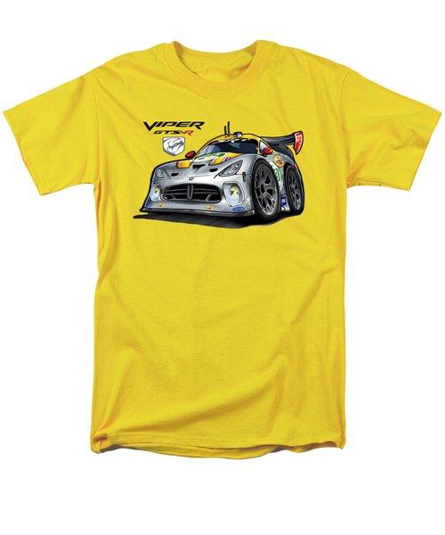 Viper Gts-r Car-toon Men's T-Shirt  (Regular Fit) by Steven Dahlen