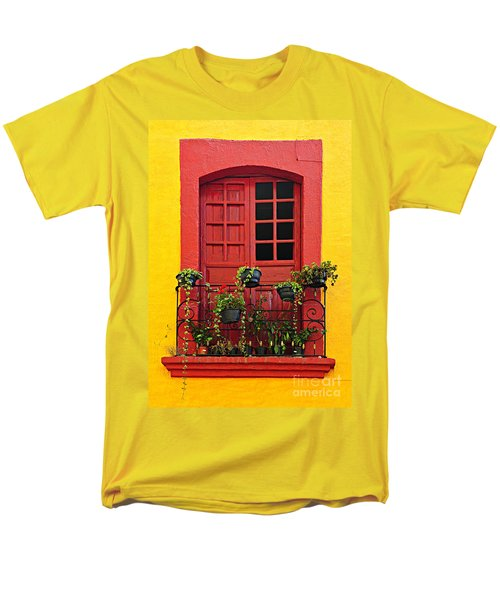 Window on Mexican house T-Shirt by Elena Elisseeva