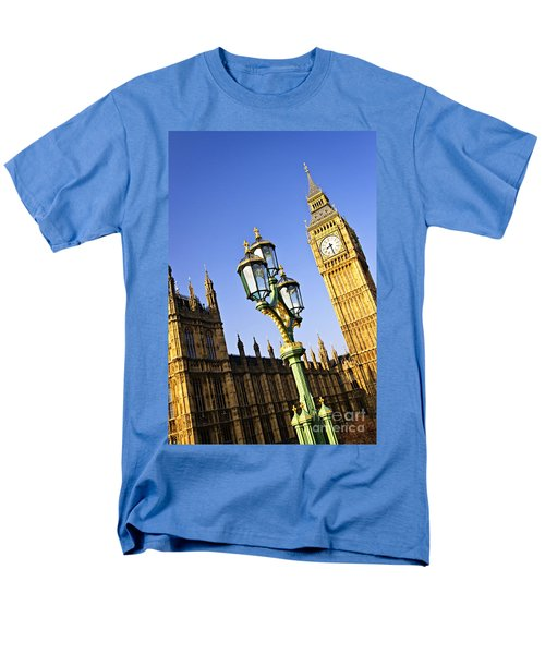 Big Ben and Palace of Westminster T-Shirt by Elena Elisseeva