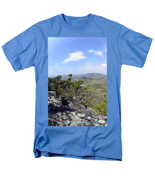 On the Edge T-Shirt by Susan Leggett
