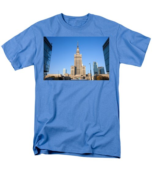 Palace of Culture and Science in Warsaw T-Shirt by Artur Bogacki