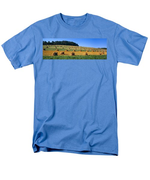 Agriculture - Contour Strips T-Shirt by Timothy Hearsum
