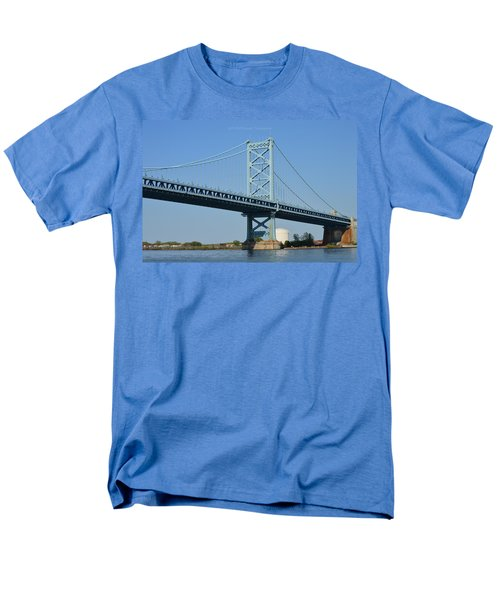 Benjamin Franklin Bridge T-Shirt by Sonali Gangane
