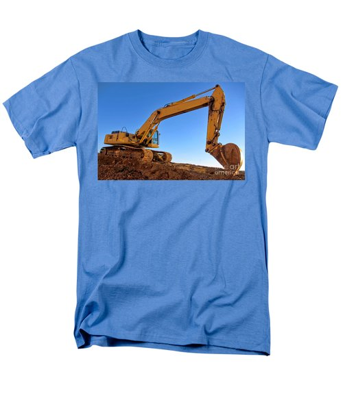 Excavator T-Shirt by Olivier Le Queinec
