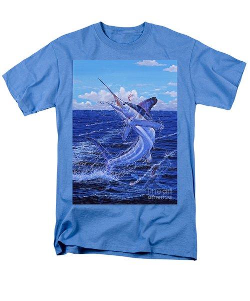 Flat Line Off0077 Men's T-Shirt  (Regular Fit) by Carey Chen