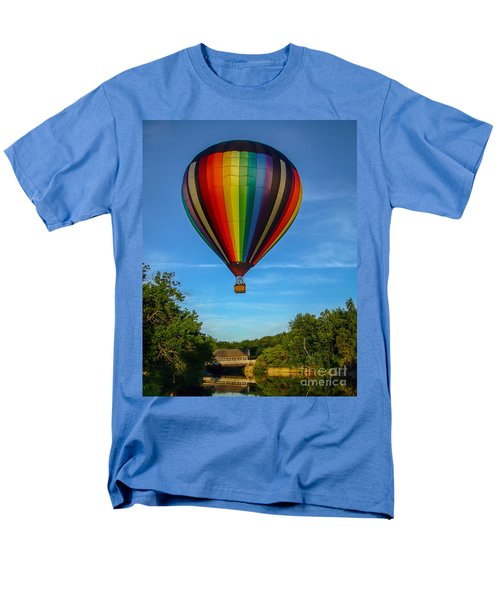 Hot Air Balloon Woodstock Vermont T-Shirt by Edward Fielding