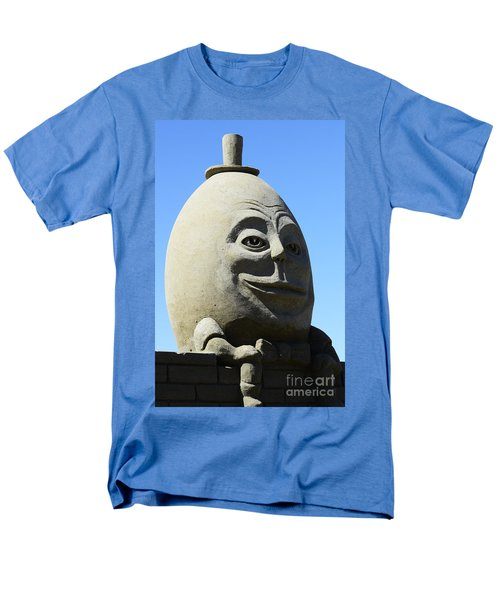 Humpty Dumpty Sand Sculpture T-Shirt by Bob Christopher