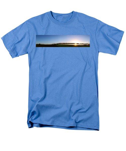 Ile de France Sunset T-Shirt by Olivier Le Queinec