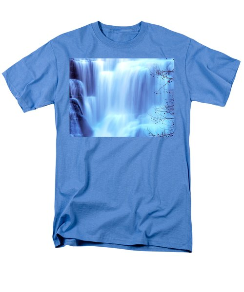 Ithaca Water Falls New York  T-Shirt by Paul Ge