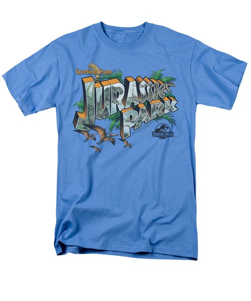 Jurassic Park - Greetings From Jp Men's T-Shirt  (Regular Fit) by Brand A