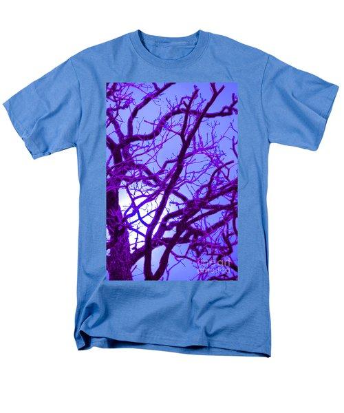 Moon Tree purple T-Shirt by First Star Art