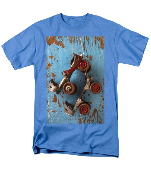 Old roller skates T-Shirt by Garry Gay