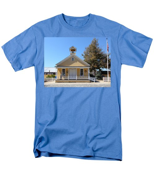 Old Sacramento California Schoolhouse 5D25541 T-Shirt by Wingsdomain Art and Photography