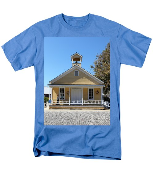 Old Sacramento California Schoolhouse 5D25543 T-Shirt by Wingsdomain Art and Photography
