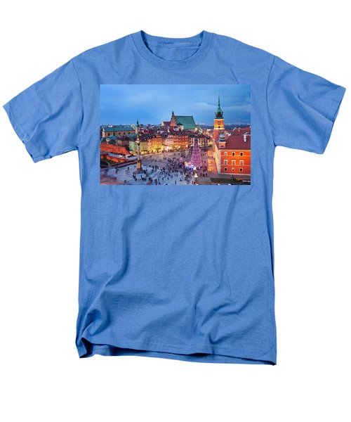 Old Town in Warsaw at Evening T-Shirt by Artur Bogacki