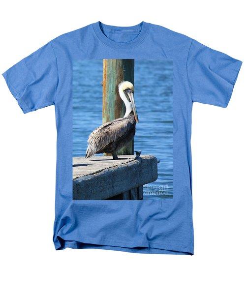 Posing Pelican T-Shirt by Carol Groenen