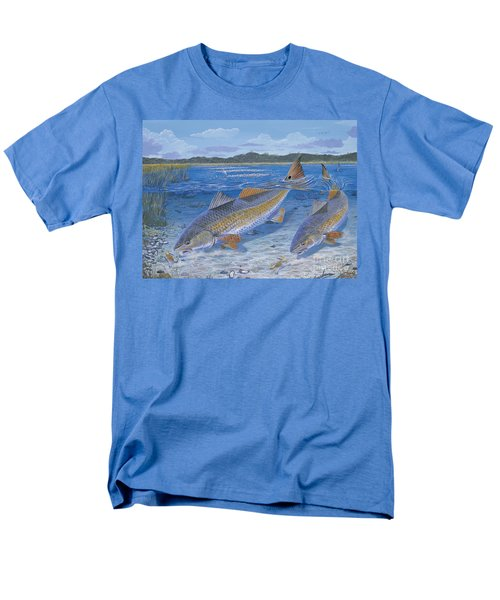 Red Creek In0010 Men's T-Shirt  (Regular Fit) by Carey Chen